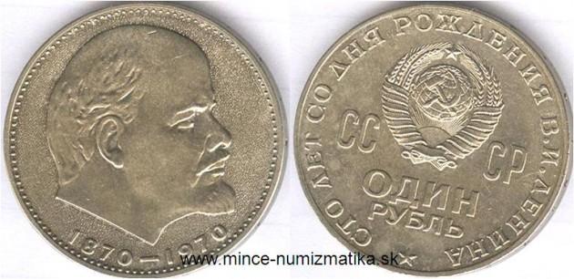 CCCP, numizmatika, zberateľská minca